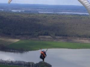Yep - you run off a mountain, it's so exhilarating :)